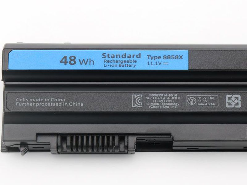 DELL 8858X laptop batterie