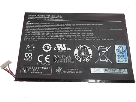 AP12D8K Laptop Akku