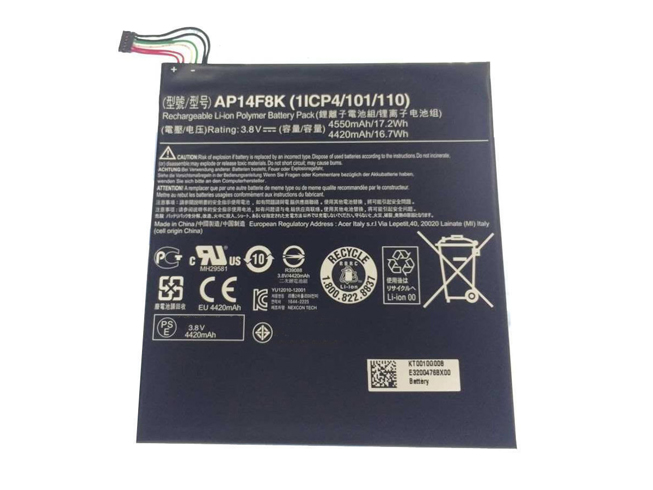 Acer AP14F8K tablet batterie
