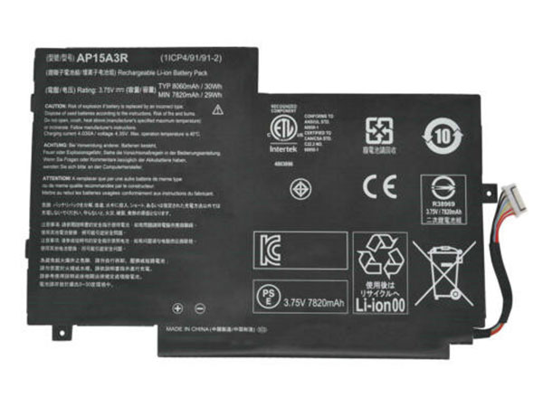 AP15A3R Laptop Akku