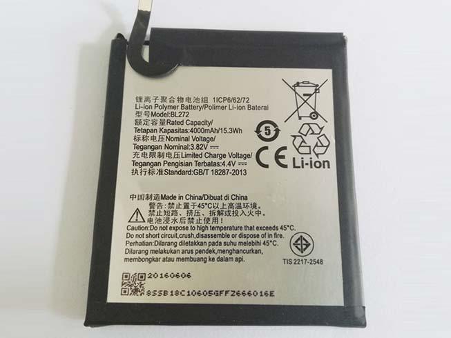 Lenovo BL272 handy batterie