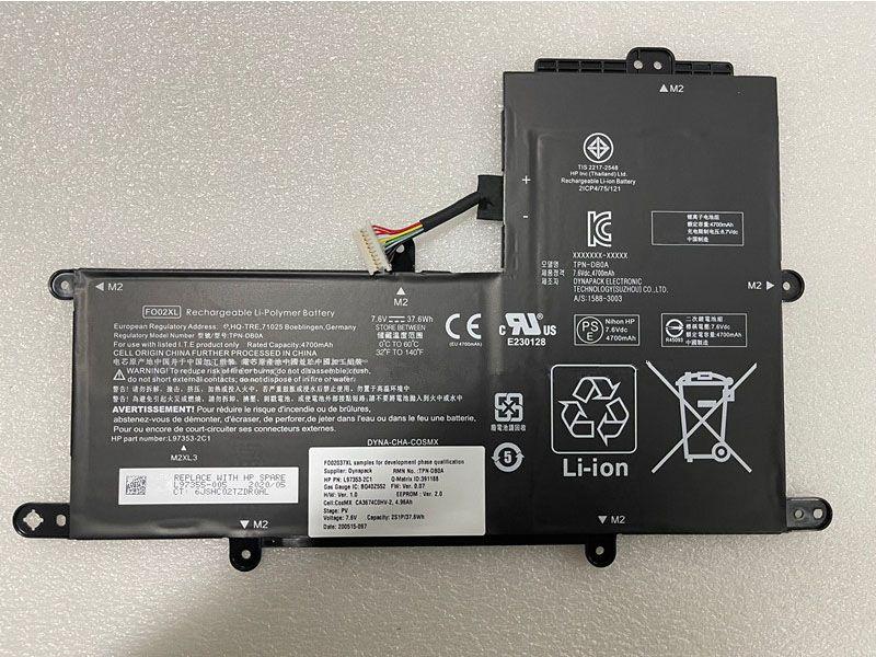 FO02XL Laptop Akku