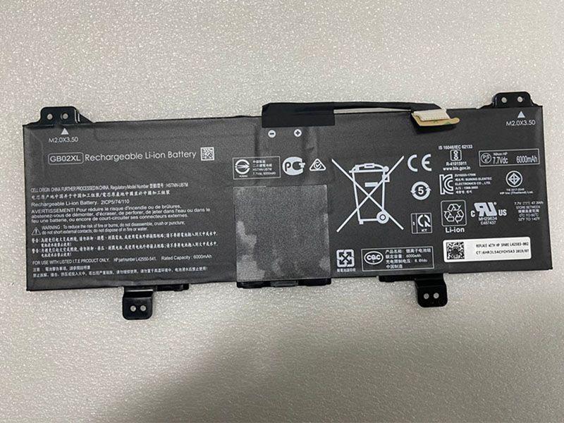 GB02XL Laptop Akku