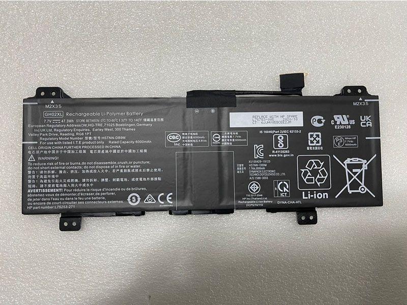 GH02XL Laptop Akku