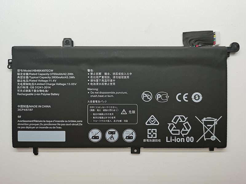 HB46K497ECW Laptop Akku