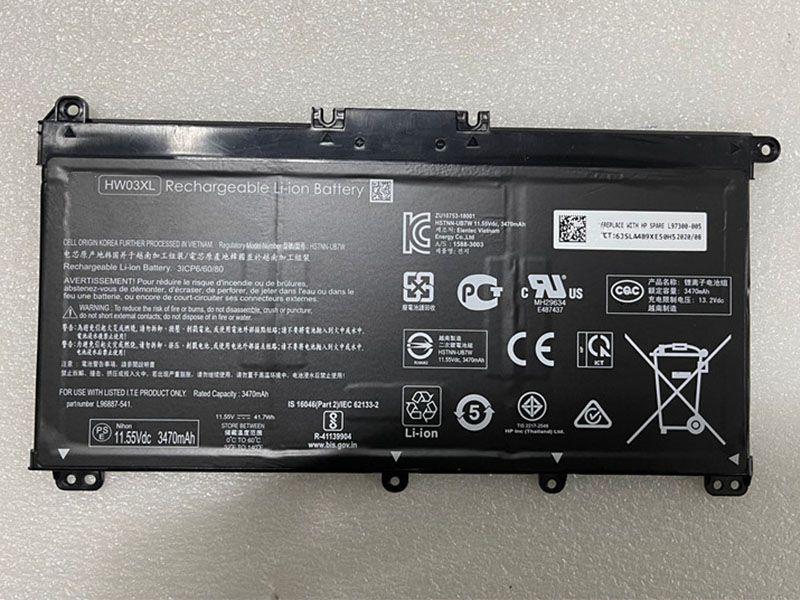 HW03XL Laptop Akku