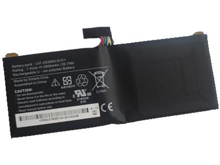 L07-2S2800-S1C1 Laptop Akku