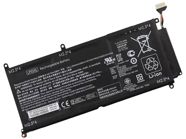 HP LP03XL tablet batterie