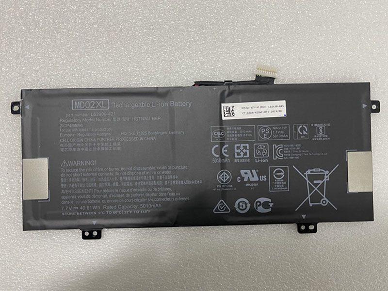 MD02XL Laptop Akku
