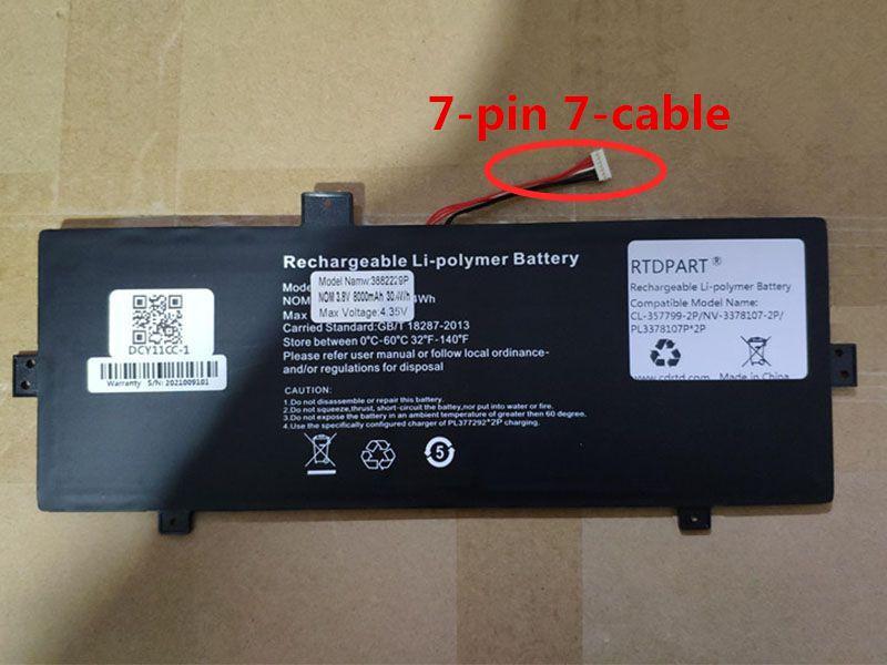NV-3378107-2P Laptop Akku