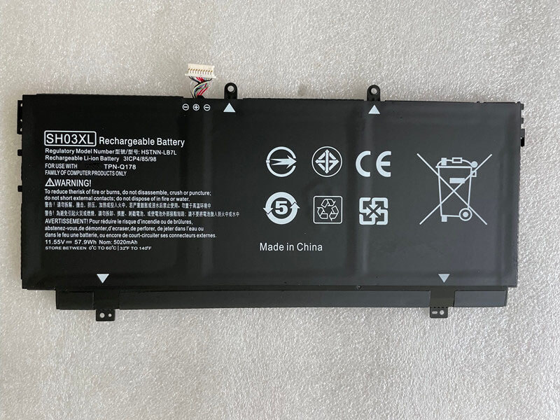 HP SH03XL laptop batterie