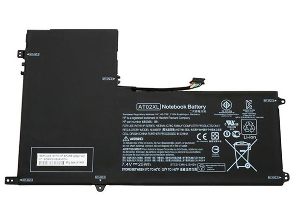hp AO02XL Laptop-Akku