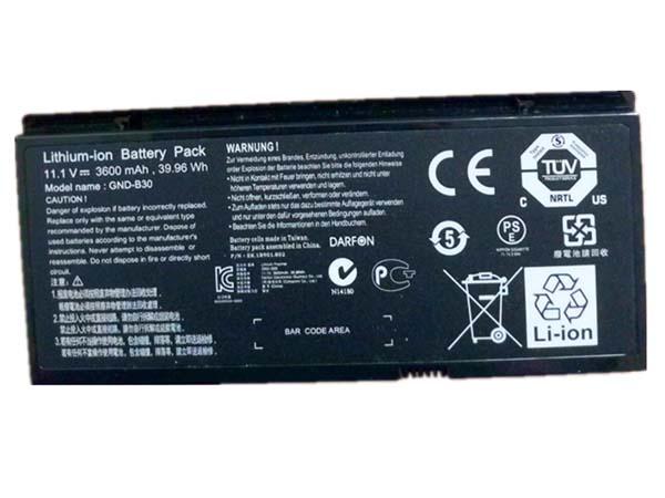 GND-B30 Laptop Akku