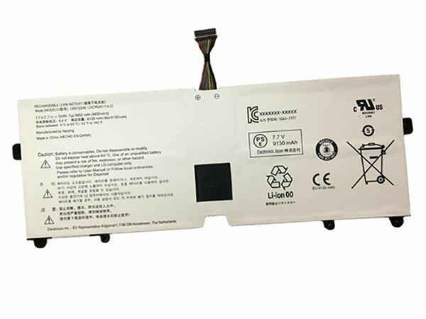 LBS1224E Laptop Akku