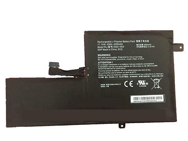 Hasee SQU-1603 Laptop akkus